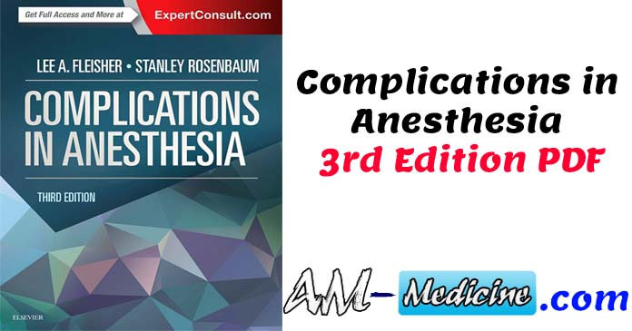 Complications in Anesthesia 3rd Edition PDF