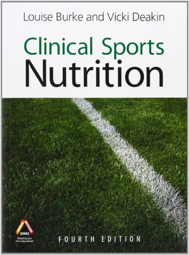 Clinical Sports Nutrition 4th Edition