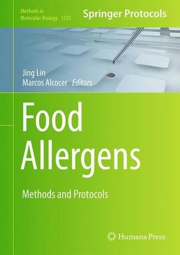 Food Allergens Methods and Protocols 1st Edition PDF
