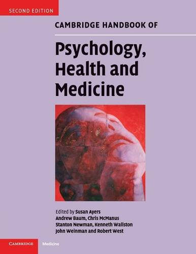Cambridge Handbook of Psychology Health and Medicine 2nd edition  PDF