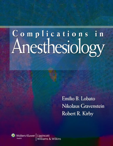 Complications in Anesthesiology 4th edition  PDF