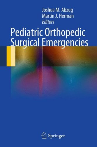 Pediatric Orthopedic Surgical Emergencies