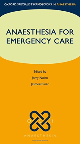 Anaesthesia for Emergency Care  PDF