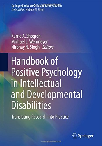 Handbook of Positive Psychology in Intellectual and Developmental Disabilities  PDF
