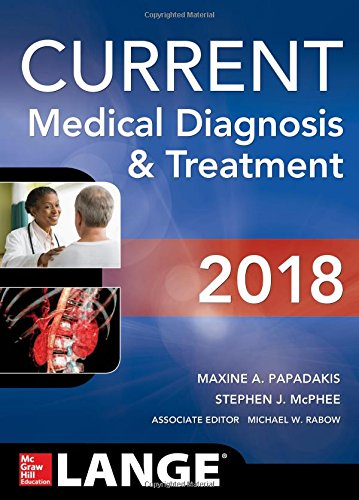 CURRENT Medical Diagnosis and Treatment 2018 57th Edition