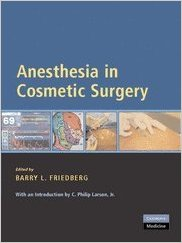 Anesthesia in Cosmetic Surgery  PDF