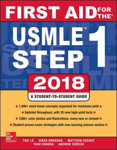 First Aid for the USMLE Step 1 2018 28th Edition  PDF