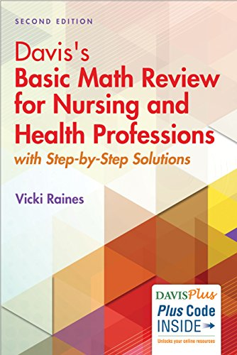 Davis's Basic Math Review for Nursing and Health Professions 2nd Edition  PDF