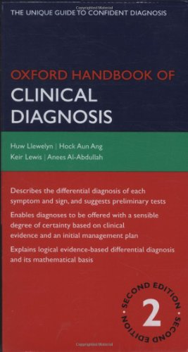 Oxford Handbook of Clinical Diagnosis 2nd Edition  PDF