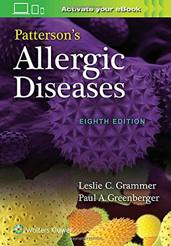 Patterson's Allergic Diseases Eighth Edition PDF