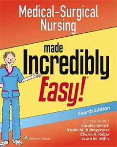 Medical-Surgical Nursing Made Incredibly Easy 4th Edition PDF