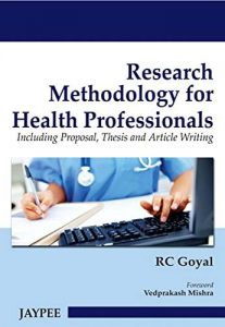 Research Methodology for Health Professionals PDF – 1st Edition