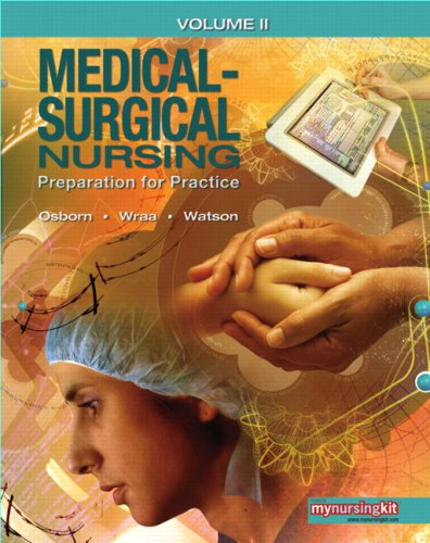 Medical Surgical Nursing Preparation for Practice PDF