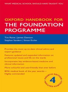Oxford Handbook for the Foundation Programme 4th Edition PDF