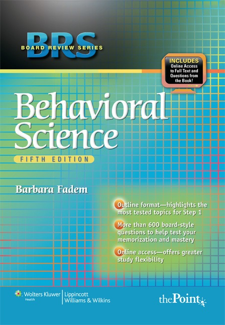 Brs behavioral science 5th edition free download.