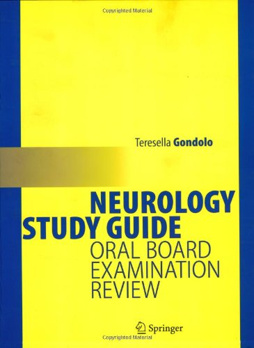 Neurology Study Guide Oral Board Examination Review PDF