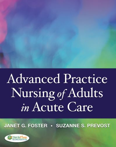 Advanced Practice Nursing of Adults in Acute Care PDF