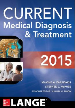 CURRENT Medical Diagnosis and Treatment 54th Edition PDF