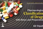 Pharmacological Classification of Drugs with Doses and Preparations PDF