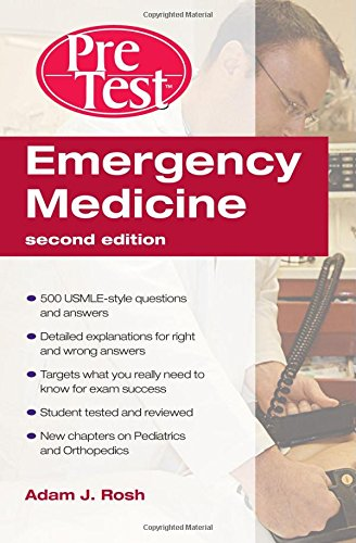 Emergency Medicine PreTest Self-Assessment and Review 2nd Edition PDF