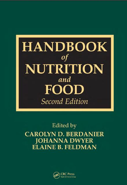 Handbook of Nutrition and Food PDF