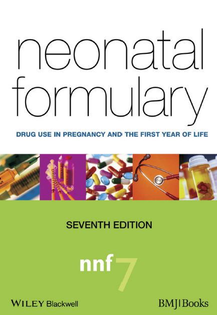 Neonatal Formulary 7th Edition PDF