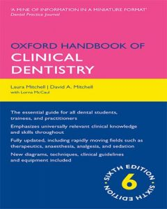 Oxford Handbook of Clinical Dentistry 6th Edition PDF