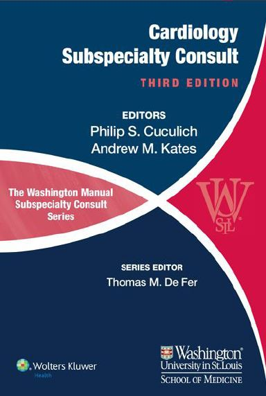 The Washington Manual of Cardiology Subspecialty Consult 3rd Edition PDF