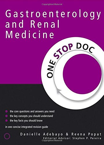 One Stop Doc Gastroenterology and Renal Medicine PDF