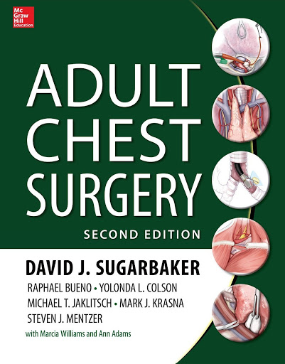 Adult Chest Surgery 2nd Edition PDF