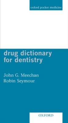 Drug Dictionary for Dentistry PDF