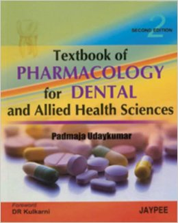Textbook of Pharmacology for Dental and Allied Health Sciences 2nd Edition PDF