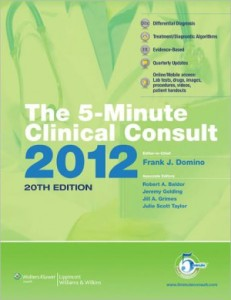 The 5-Minute Clinical Consult 2012 20th Edition