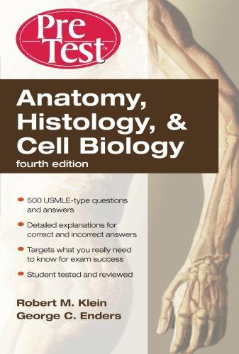 PreTest Anatomy Histology & Cell Biology 4th Edition PDF