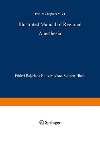 Illustrated Manual of Regional Anesthesia PDF