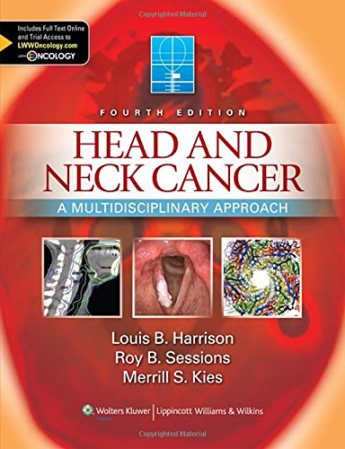 Head and Neck Cancer A Multidisciplinary Approach 4th Edition PDF