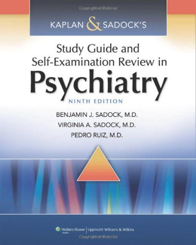 Study Guide and Self-Examination Review in Psychiatry 9th Edition PDF