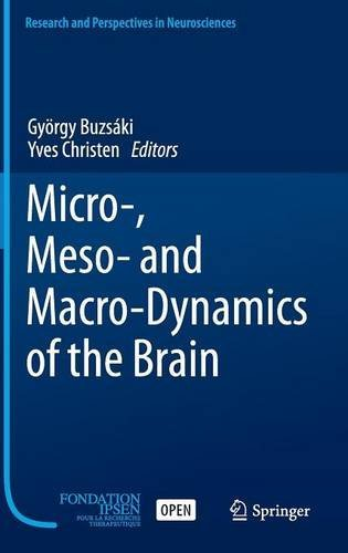 Micro-Meso- and Macro-Dynamics of the Brain PDF