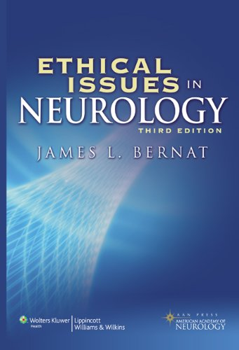 Ethical Issues in Neurology 3rd Edition PDF