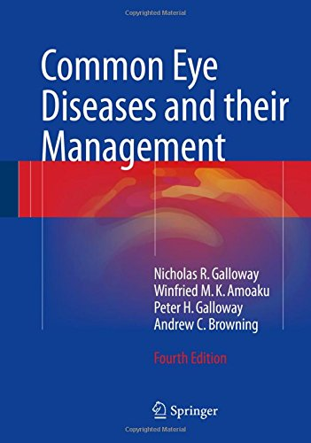 Common Eye Diseases and their Management 4th Edition PDF