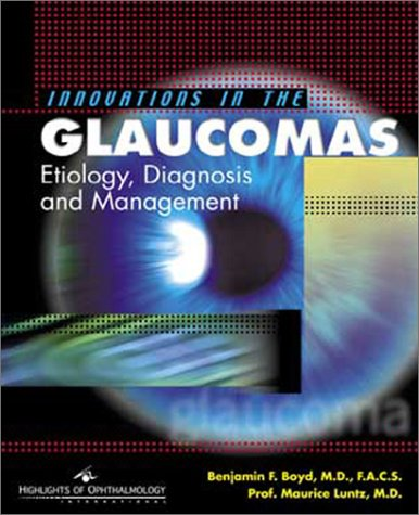 Innovations in the Glaucomas PDF