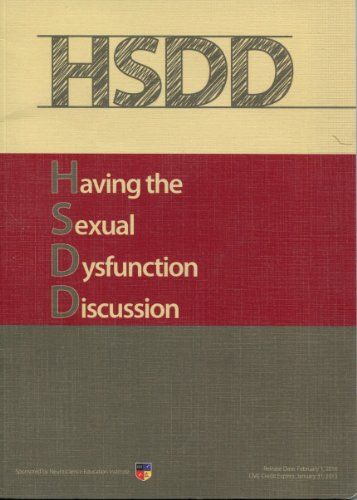 Having the Sexual Dysfunction Discussion PDF