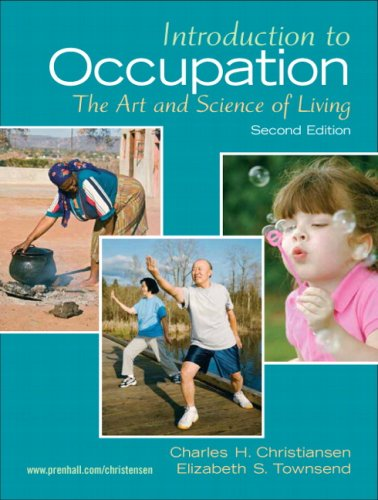 Introduction to Occupation 2nd Edition PDF