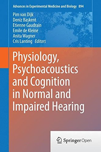Physiology Psychoacoustics and Cognition in Normal and Impaired Hearing PDF