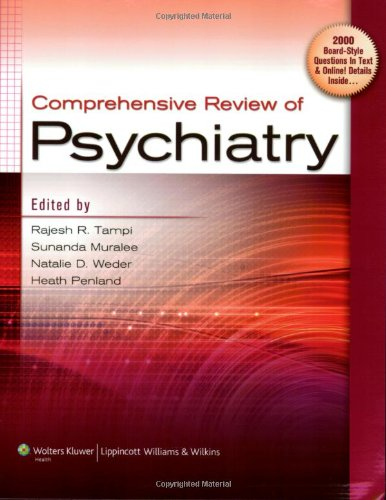 Comprehensive Review of Psychiatry 1st Edition PDF