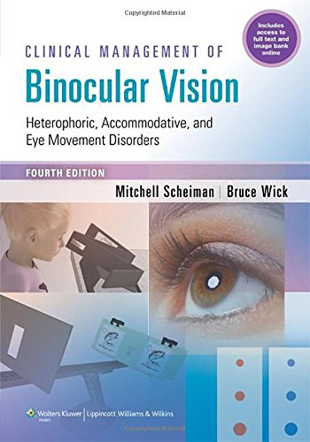 Clinical Management of Binocular Vision 4th Edition PDF