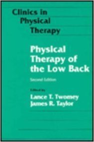 Physical Therapy of the Low Back 2nd Edition PDF