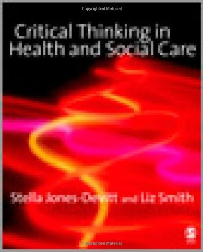 Critical Thinking in Health and Social Care PDF