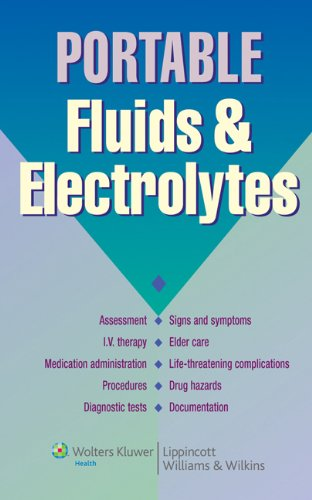 Portable Fluids and Electrolytes PDF