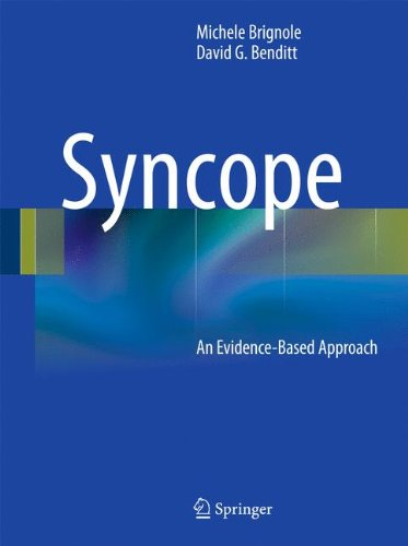 Syncope An Evidence-Based Approach PDF